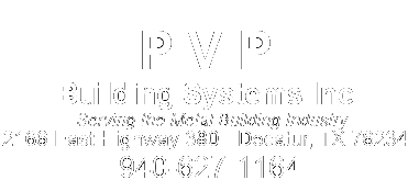 PVP – Serving the Metal Building Industry